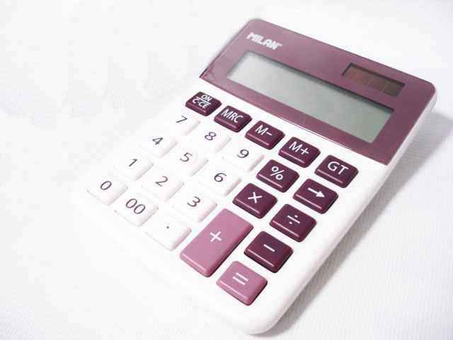 MILAN (Milan) 12-digit calculator No. 40925 BR