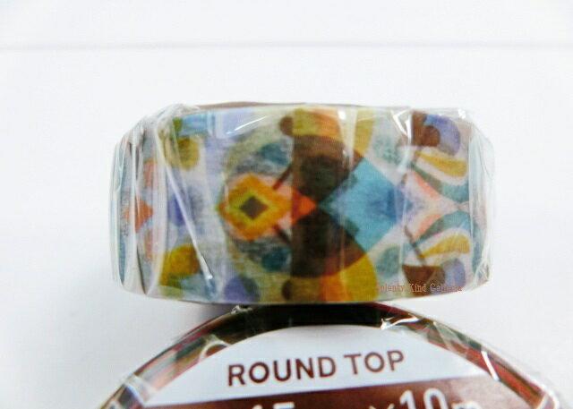 ギフトラッピング用品, デザインマスキングテープ Round TopDECOBLUE MM-MK-003 material michemon15mmROUND TOP3cmOK