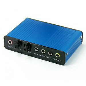 お取り寄せ商品となります。USB to 5.1chオーディオアダプタ [RA-AUD51]【27Apr12P】【エントリ...