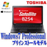 メモリ4GBモデルをご奉仕価格で今なら8GBへの増設もおすすめ東芝 dynabookSatellite B254K 15.6...