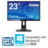 【送料無料】iiyama23型AH-IPS方式パネル+WLEDバックライト搭載ワイド液晶ディスプレイマーベルブラックProLiteXUB2390HS-B2