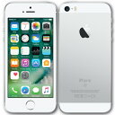 【中古】【送料無料】AppleアップルiPhoneSE本体64GBシルバーMLM72J/A箱無し付属品無し白ロムau版非赤ロム