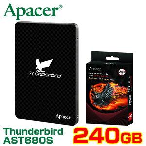 安心の国内版です Apacer Thunderbird サンダーバード【送料無料】Apacer SSD AST680S シリーズ...