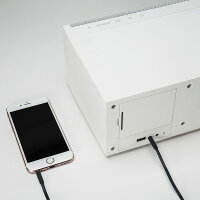 IRIVERWiFiBluetoothAirPlay対応デスクトップスピーカーLS150ホワイト