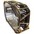 InWin オープンフレーム PCケース Dフレーム 2.0 ブラック/ゴールド [D-Frame 2.0 Black/Gold]
