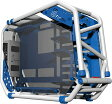 InWin オープンフレーム PCケース Dフレーム 2.0 ホワイト/ブルー [D-Frame 2.0 White/Blue]