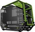 InWin オープンフレーム PCケース Dフレーム 2.0 ブラック/グリーン [D-Frame 2.0 Black/Green]
