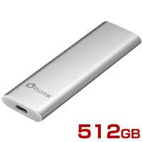 PLEXTORプレクスターポータブルSSDEX1512GBEX1-512[USB3.1チタニウムシルバー]