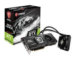 MSI GeForce RTX 2080 Ti SEA HAWK X エムエスアイ グラフィックボード [NVIDIA GeForce RTX 2080 TI / 11GB]