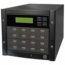 USB写楽1:15USBメモリーデュプリケーター15枚タイプSRUSB-15Dコムワークス