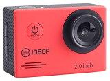 SACフルHD1080p対応アクションカメラ2インチ液晶30M防水ケース付きAC200BK