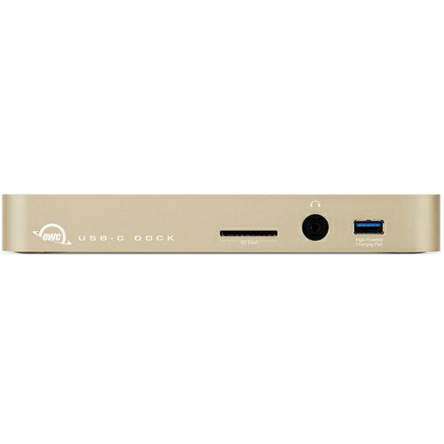 《在庫あり》OWC USB Type-C Dock Gold [TCDOCK11PGD]:Mac専門の秋葉館
