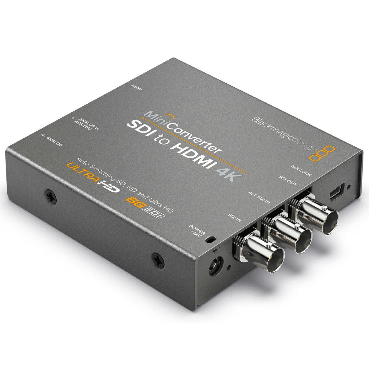 Blackmagic Design Mini Converter SDI to HDMI 4K [CONVMBSH4K]