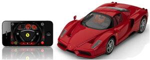 《在庫あり》【エントリーで5倍、送料無料クーポン配布12/12まで】Silverlit(シルバーリット)【正規代理店品】 Interactive Bluetooth Remote Control Enzo Ferrari(フェラーリ) iPhone, iPad ラジコン SIL-FERRARI [SIL-FERRARI-T]【P3倍12/16まで】