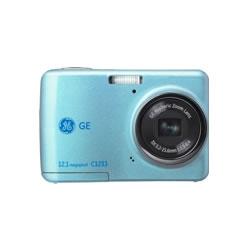 《在庫あり》GE (ジェネラルイメージングジャパン)1210万画素デジタルカメラ[C1233J BLUE]【newitem】【P10倍2/29まで】