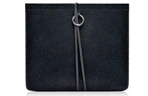 《予約受付中》EVOUNI(エボユニ) 100% HandmadeWoolシリーズ iPad2 ブラック [W57-1BK]【newi...