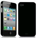 《予約受付中》【7月上旬~中旬予定】TUNEWEAR eggshell for iPhone 4 ブラック [TUN-PH-000037...