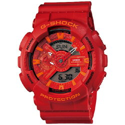 CASIO G-SHOCK Red watch GA-110AC-4AJF G-SHOCK Bl...
