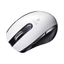 SANWA SUPPLY(サンワサプライ) マウス MA-BTBL171W ホワイト [BlueLED /5ボタン /Bluetooth /無線(ワイヤレス)] MABTBL171W