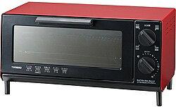 ツインバード オーブントースター(860W) TS-4035R レッド TS4035R