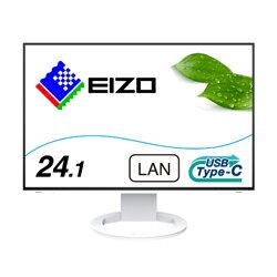 EIZO(エイゾー) USB-C接続 PCモニター FlexScan ホワイト EV2495-WT [24.1型 /ワイド /WUXGA(1920×1200)] EV2495WT