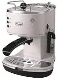 デロンギ ECO310W ホワイト ≪エスプレッソマシン兼用≫コーヒーメーカー(1.4L) ECO310