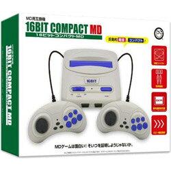 コロンバスサークル 16ビットコンパクトMD (MD互換機) [ゲーム機本体] [CC-16CPM-BK]