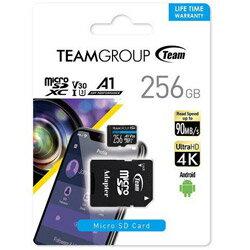 TEAM microSDXCカード ELITE A1 TEAUSDX256GIV30A103 [256GB] TEAUSDX256GIV30A103