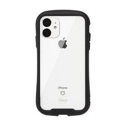 HAMEE iPhone 11 6.1インチ iFace Reflection強化ガラスクリアケース 41-907351 ブラック IPXIRIFACERFTBK [振込不可]