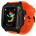 ROOX YHDIPCW4S-OR Apple Watch Series 4 (40mm) 防塵防水ケース オレンジ YHDIPCW4SOR
