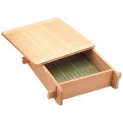 遠藤商事 木製 角セイロ 関東型(サワラ材) 33cm <WSI01033> WSI01033