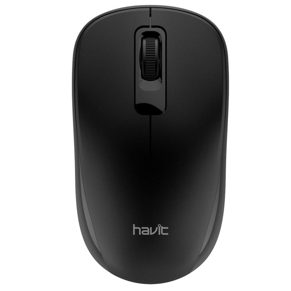 HAVITマウスGAMENOTEブラックMS626[3ボタン/USB/無線(ワイヤレス)]MS626