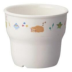 台和 メラミン お子様食器「アルパカーナ」 カップ 白 MC-75-ALW <RAR1501> RAR1501