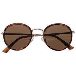 名古屋眼镜 ファッションサングラス 7838-02(デミブラウン×ゴールド/ブラウン) 7838-02