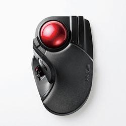 ELECOM(エレコム) ワイヤレストラックボールマウス[2.4GHz USB・Mac/Win](8ボタン・ブラック) M-HT1DRBK MHT1DRBK