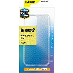 ELECOM(エレコム) iPhone2021 5.4inch/ソフトケース/極み麻葉模様 PMA21AUCTDC1