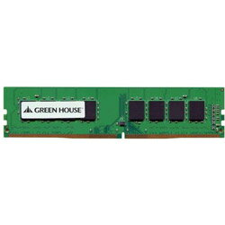 増設メモリ, PC用メモリ GREEN HOUSE() PC4-19200 DDR4 2400MHz GHDRF24004GB
