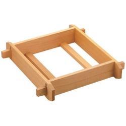 遠藤商事 木製 角セイロ 浅口(サワラ材) 45cm <WSI02045> WSI02045
