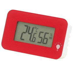 エンペックス デジタル温湿度計 シュクレ・イルミー TD-8335 ピンク TD8335