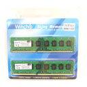 【Winchip】デスクトップ用 DDR3-1333 PC3-10600 DIMM 8GBx2枚 WVD31333C9L-8GX2