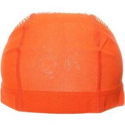 【LLB SPORTS】スイミング メッシュキャップ 水泳帽子 水泳キャップ オレンジLL