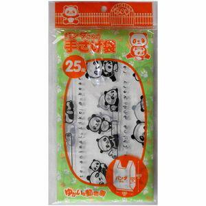 【小久保工業所 KOKUBO】小久保工業所 ゆかいな動物園! パンダ さん 手さげ袋 25枚入り K-940