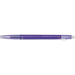 【パイロット PILOT】フリクションボールスリム 0.38 (バイオレット) P-LFBS18UF-V 消せるボールペン