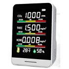 【ヒロコーポレーション】ヒロコーポHCOM-CN001CO2濃度測定器ホワイト
