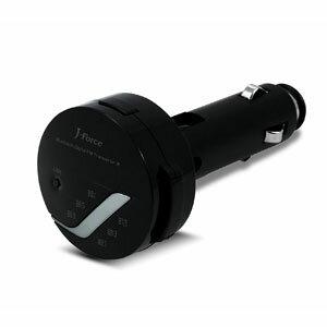 【ジェイ・フォース(J-Force)】Bluetooth対応 ワイヤレスFMトランスミッター JF-BTFM2K
