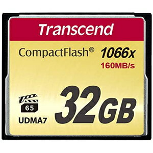 【トランセンド(Transcend)】【CF 32GB】TS32GCF1000 【1000倍速】
