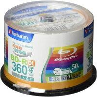 【Verbatim三菱】VBR260YP50V1(BD-RDL4倍速50枚)