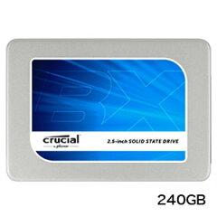 送料無料!!【クルーシャル(crucial)】SSD BX200 240GB CT240BX2...