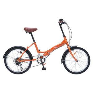 !!【マイパラス MYPALLAS】折畳自転車 20 6SP M-209 OR オレンジ 【メーカー直送 代引き不可】【smtb-u】