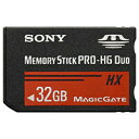 【SONY海外パッケージ】【MS PRO-HG Duo HXA 32GB】MS-HX32B【30MB/s アダプタ無しパッケージ】